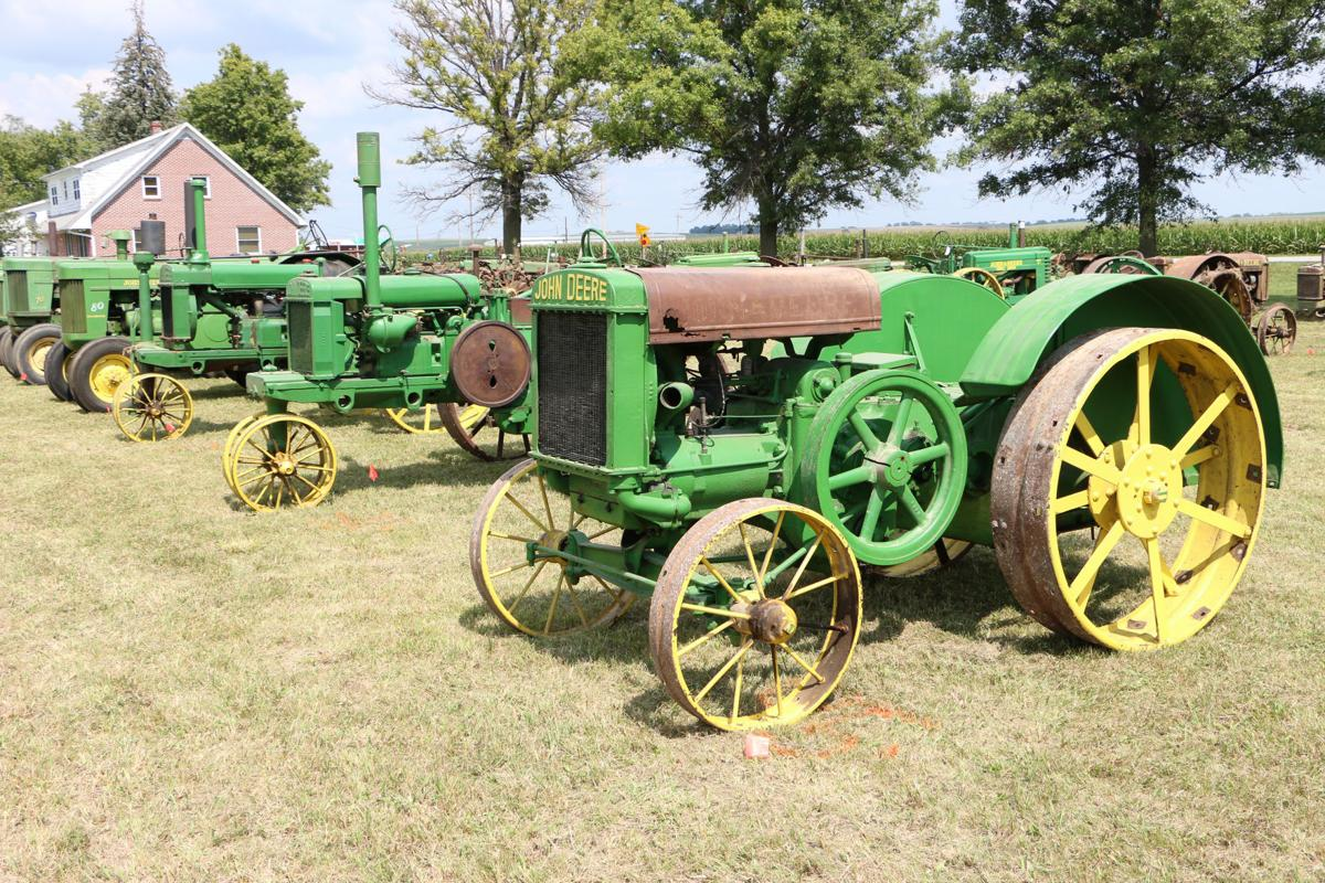 Auction time: tractors ready for big event | News | wahoo