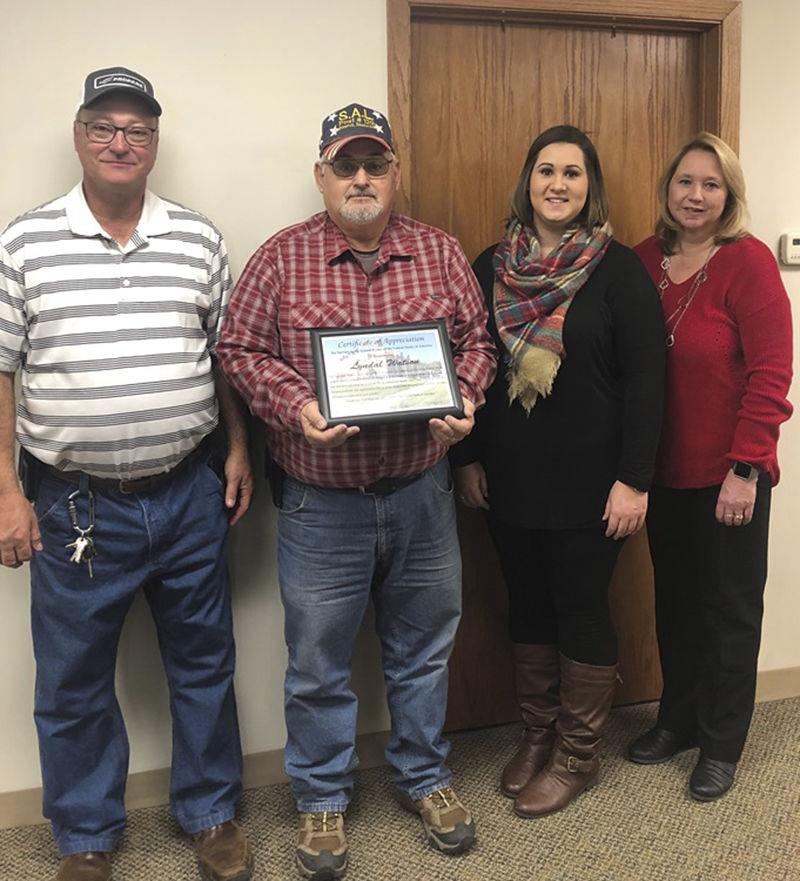 Honoring county veterans