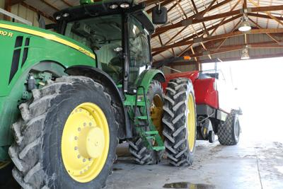 Local farmer sees success with organic hay production