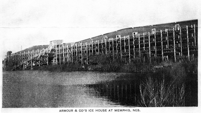 Armour And Company Icehouse Helped Put Memphis On Map Local - Memphison us map