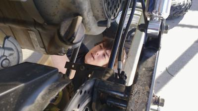 Waverly students learn essential skills in car care class
