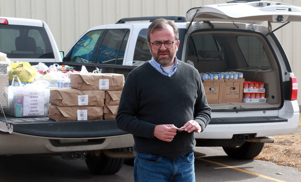 NRD gathers food for Bean Day