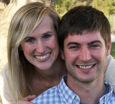 Sara Reeves and Joseph Partington