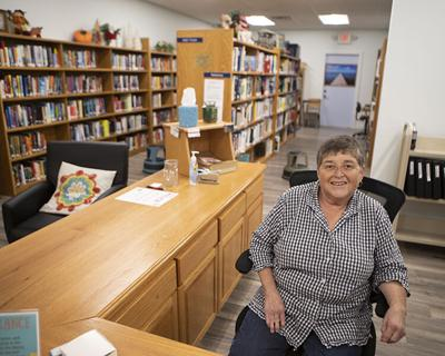 Greenwood library director