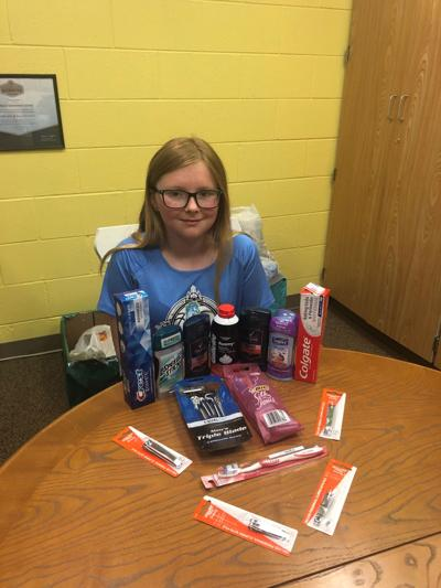 Richland youth collects for veterans, Fargo shelter