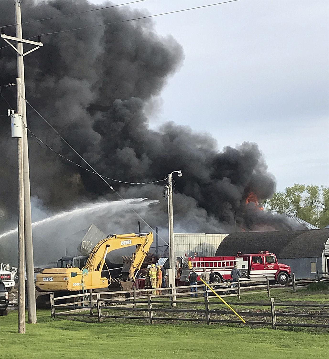Shop catches fire again