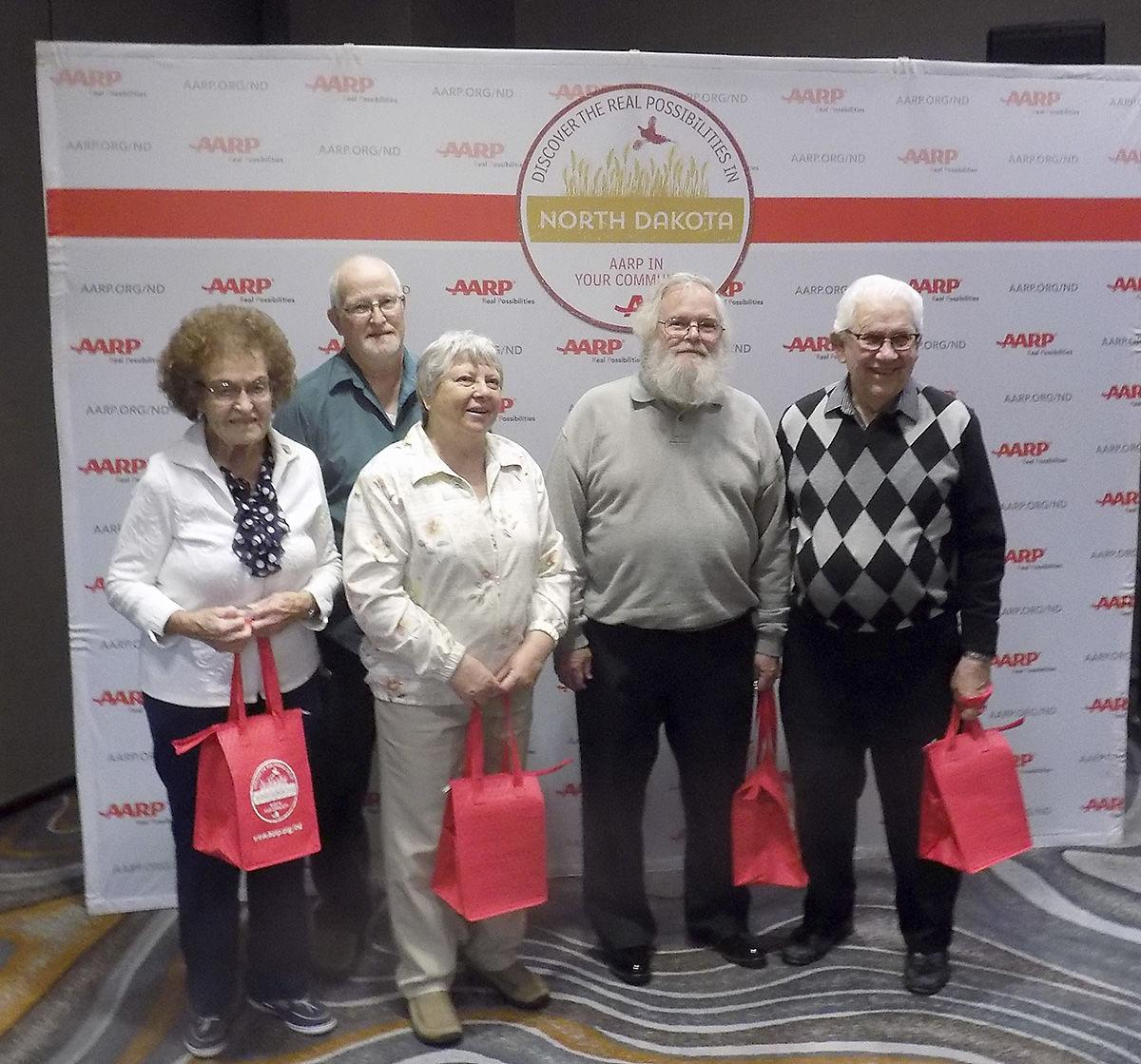 Bismarck's David Ellefson receives AARP's award for Community Service
