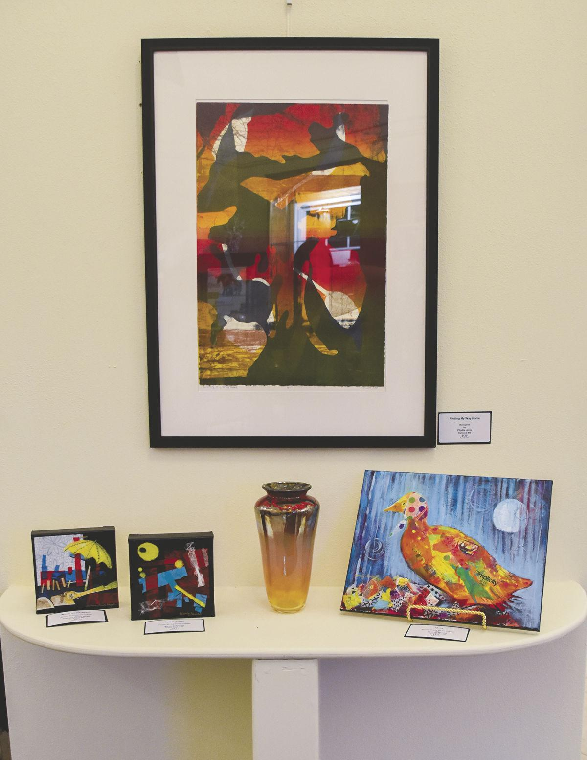 Abstract and impressionistic artists' reception held