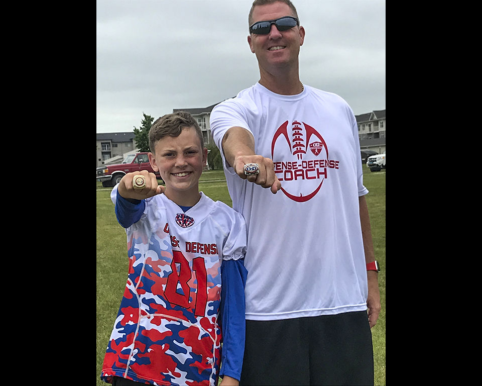 Smith coaches at All-American All-Star game