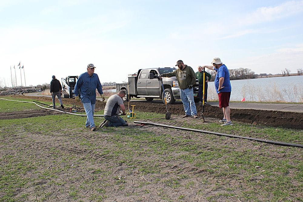 Volunteers upgrade American Legion Learning Site