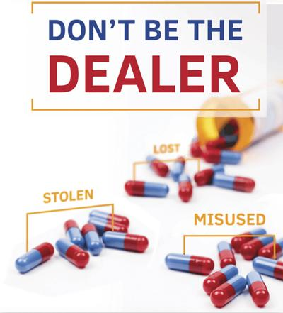 Drug Take Back Day message observed year-round locally