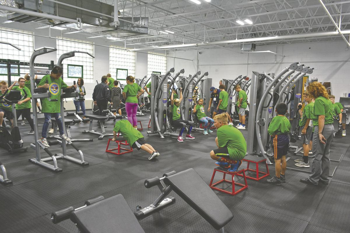 School debuts $100K DON'T QUIT fitness center
