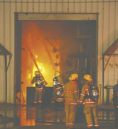 Masonite PrimeBoard catches fire