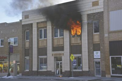 BREAKING: Fire at Citizens National Bank building in Wahpeton