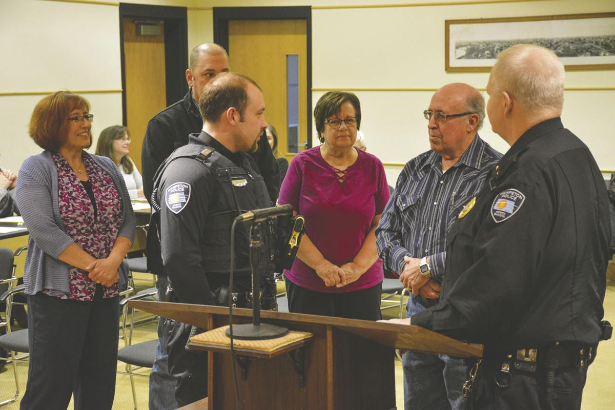 Law enforcement a family affair for Wahpeton's newest cop