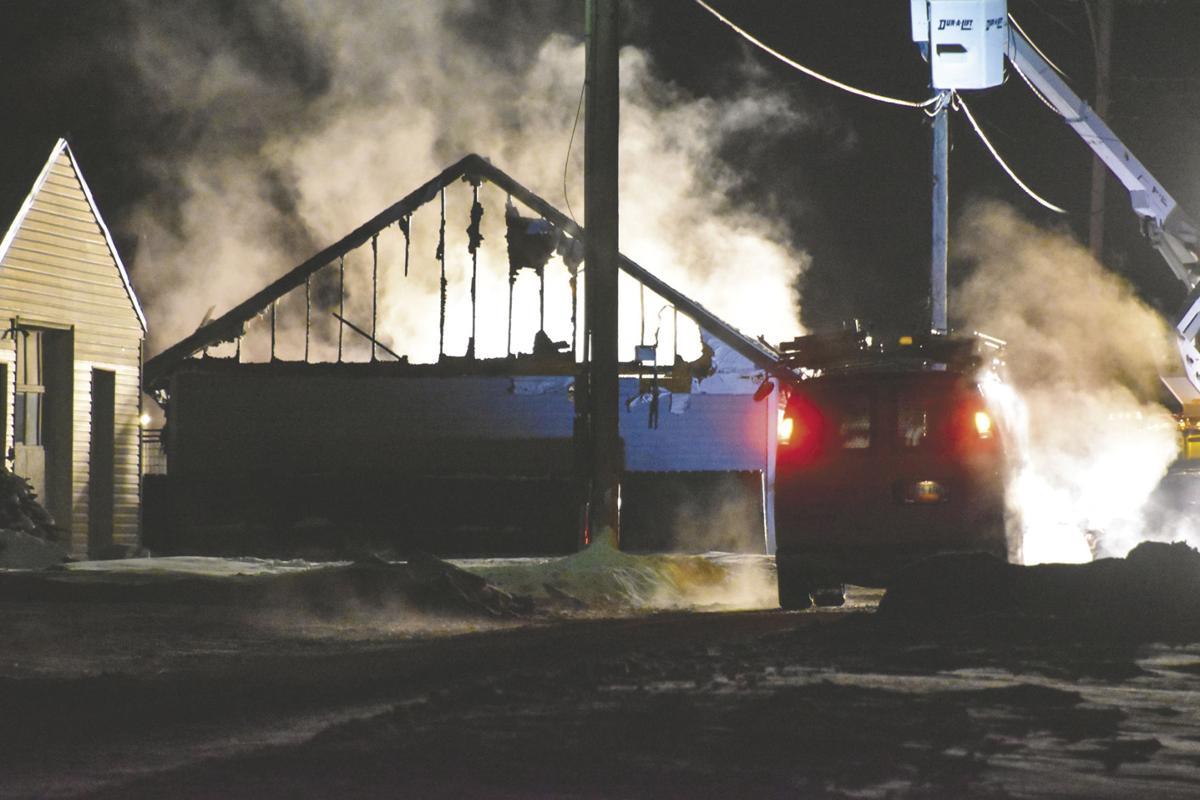 Breckenridge responds to fires