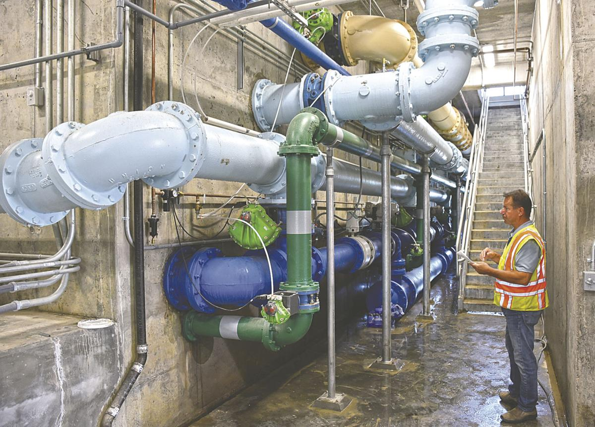 New Breckenridge water treatment plant nearly complete