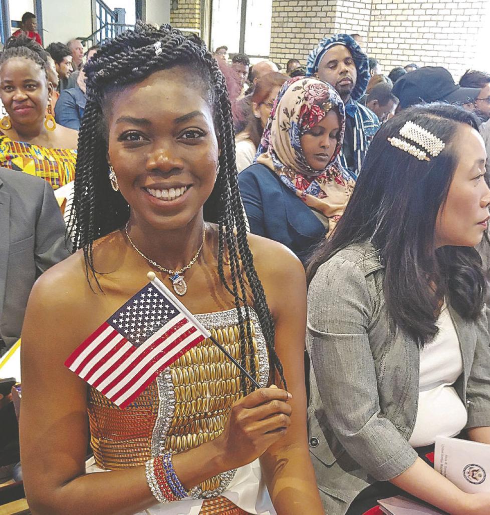 American at last