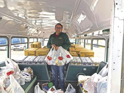 Fill the Bus continues in Twin Towns Area