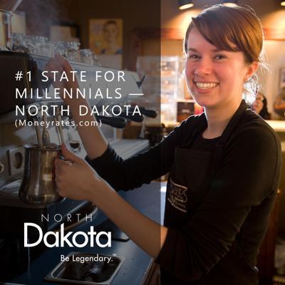 North Dakota top state for millennials