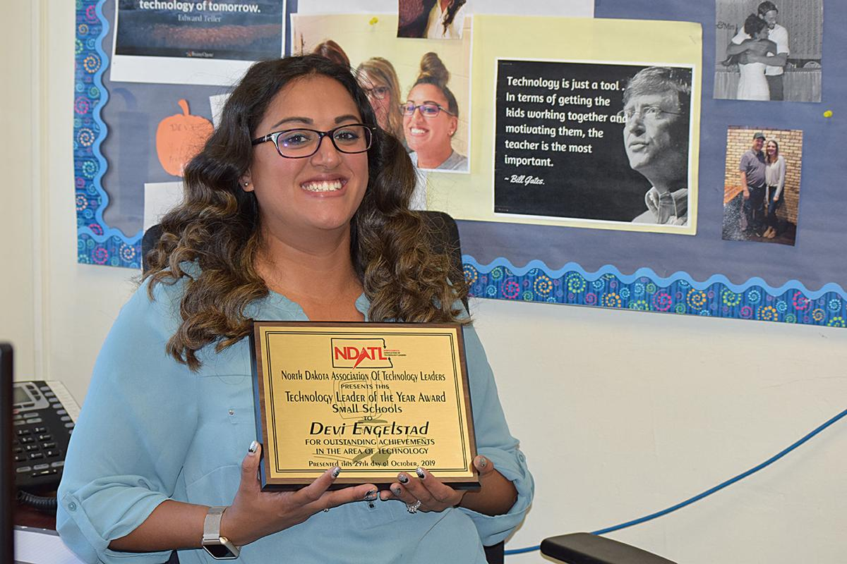 Engelstad awarded for being a leader