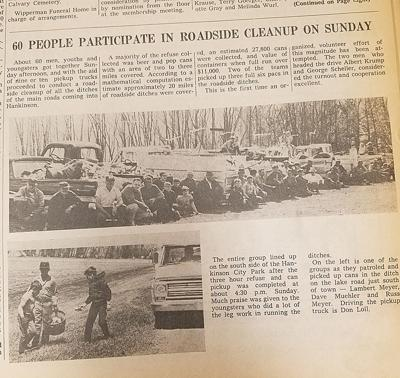 Take a look back at News From the Past featuring the Hankinson News