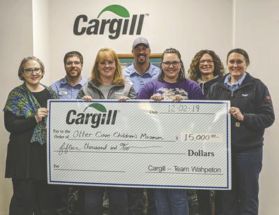 Cargill donates $15,000 to upcoming museum