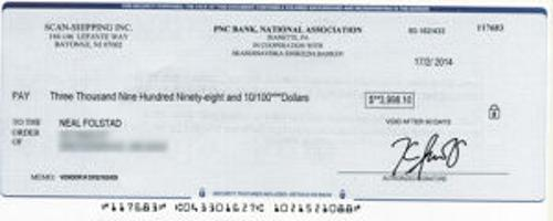 Commissioner warns residents of check scam | Local News