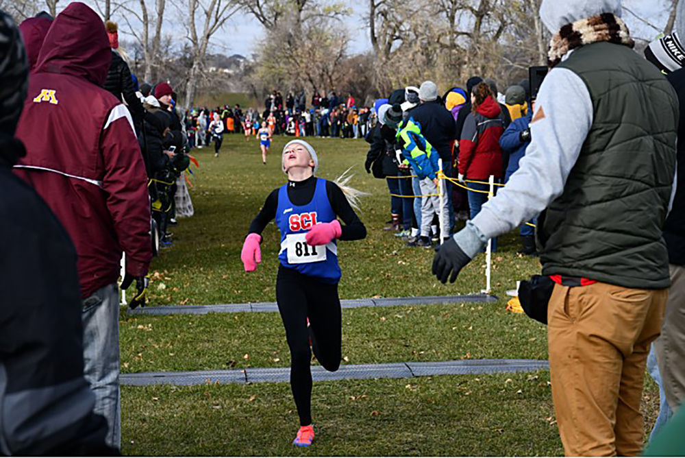 Frolek has her best run at state