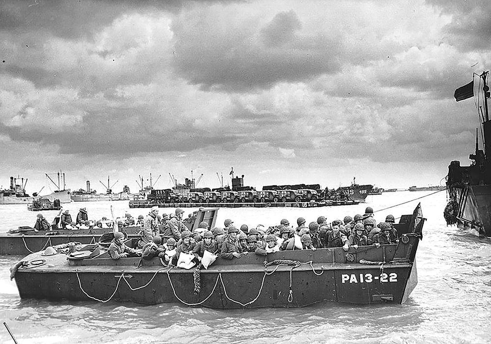 Timeline of D-Day