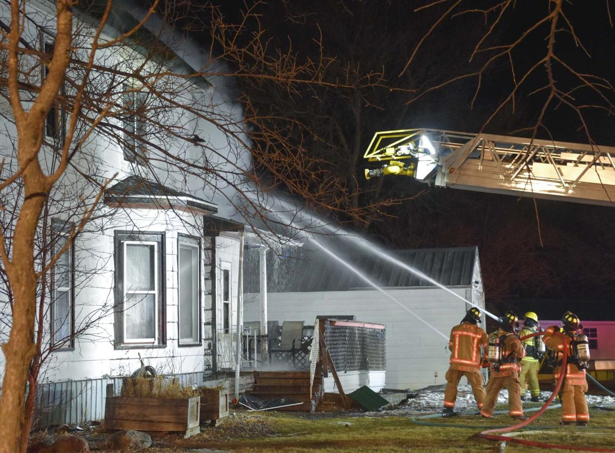 Saturday house fire outside Wahpeton