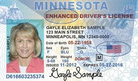 Enhanced Driver S License Travel To Canada
