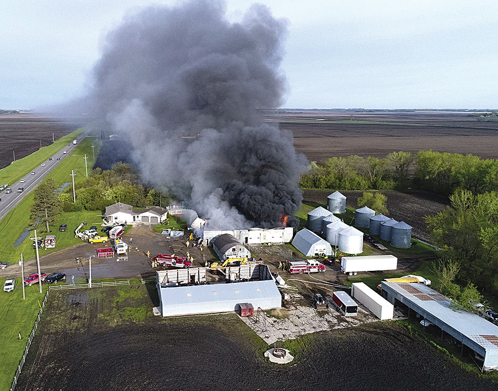 Second fire destroyed whatever was left of shop