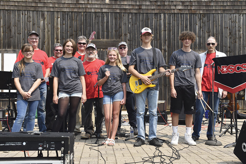 Young musicians' debut concludes first Jam Camp