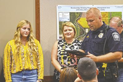 Five honored with Life Saving Awards