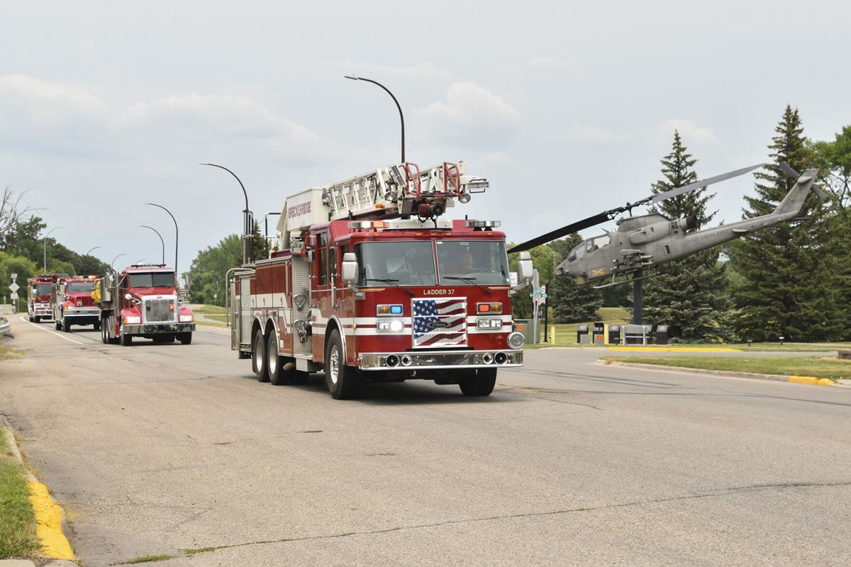 Breckenridge welcomes home fire chief injured in accident