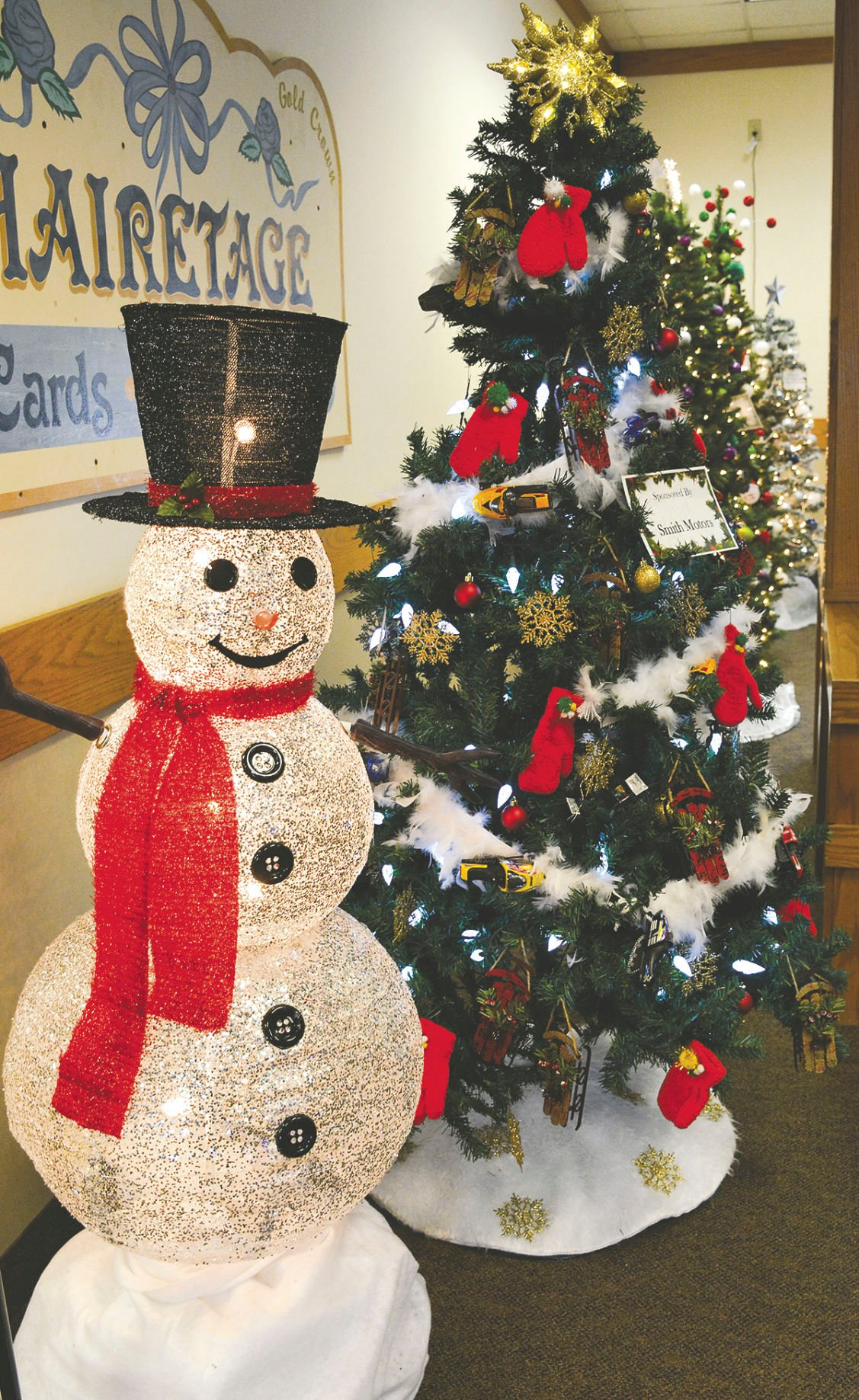 A forest of cheer in downtown Wahpeton