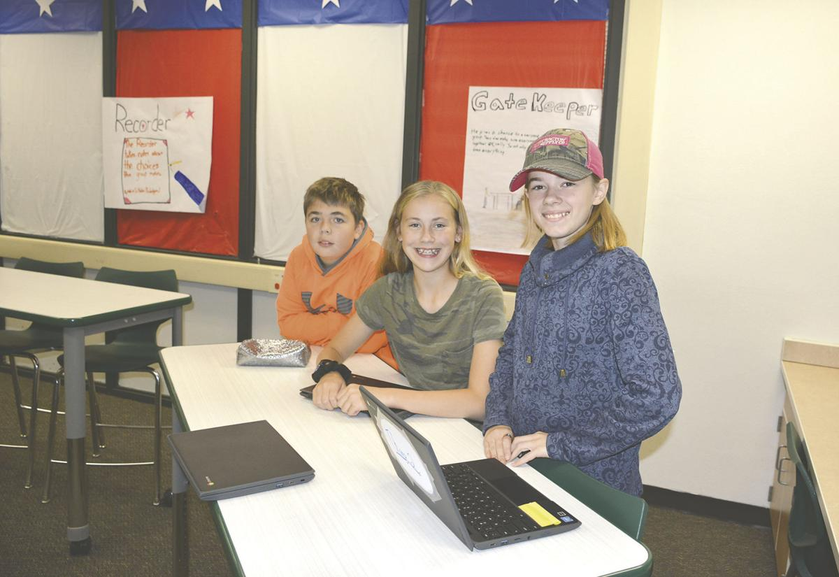Breckenridge eighth grade students develop their own solutions for the environment