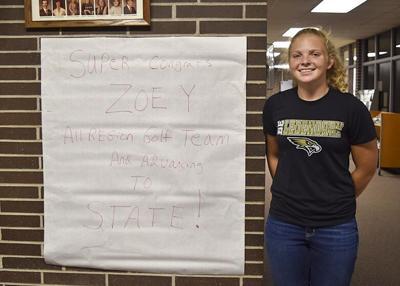 Zoey Bohnenstingl reflects on golf season ahead of state meet