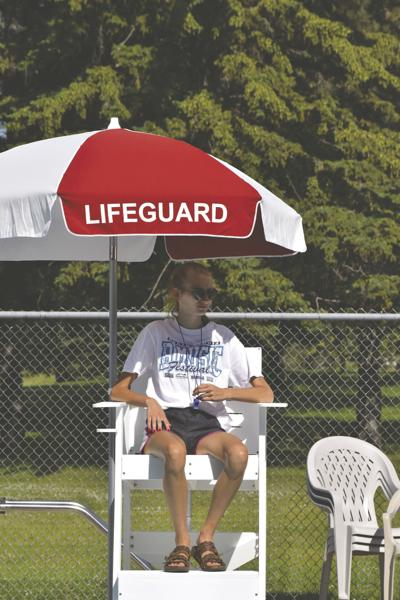 Being a lifeguard is a perfect first job