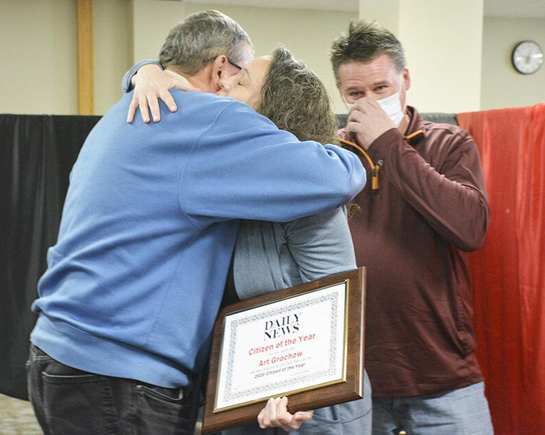 Daily News, News Monitor award Citizens of the Year