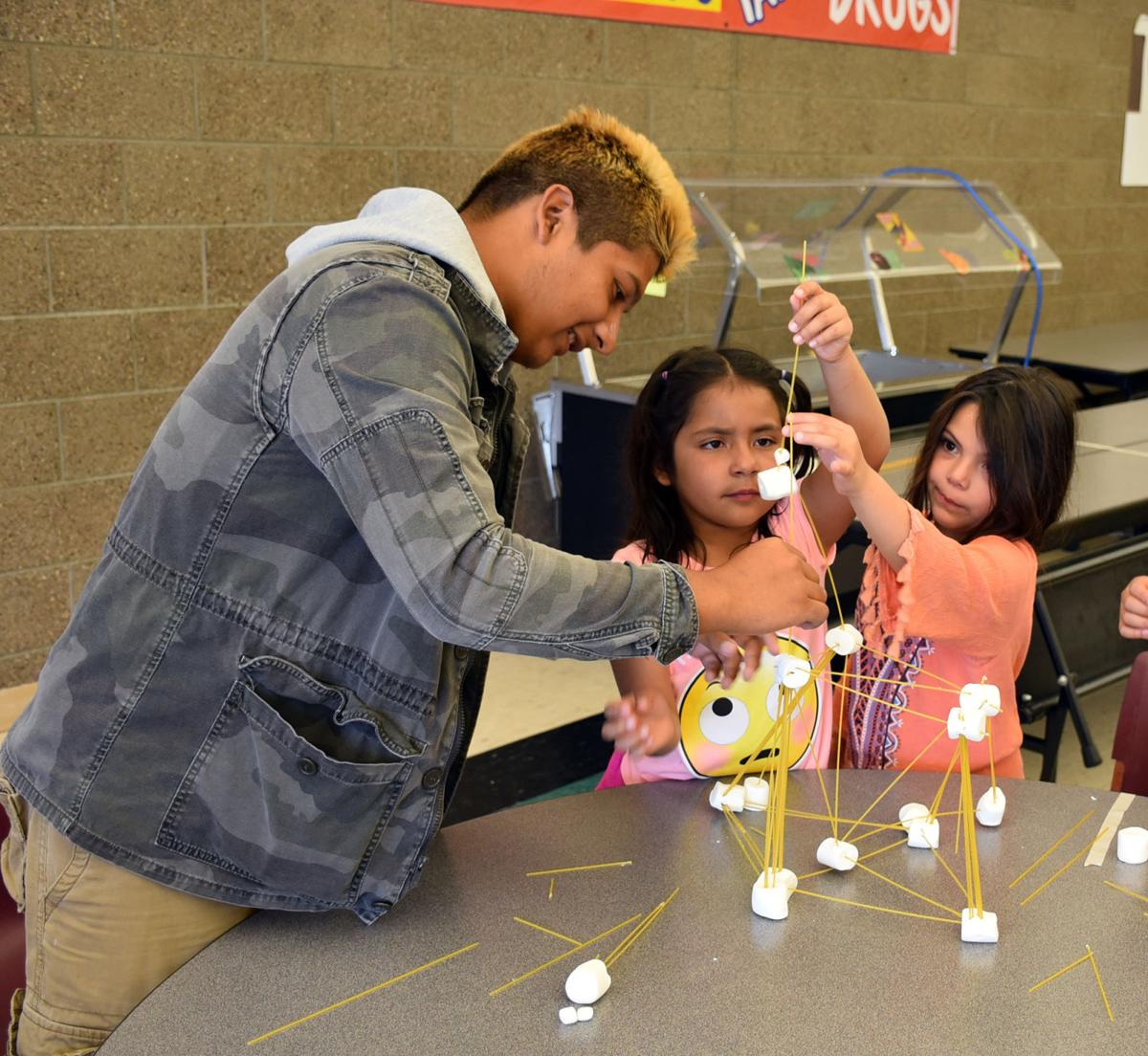 Marshmallow towers prove to be a challenge with STEM activity | Local News  Stories | wahpetondailynews.com