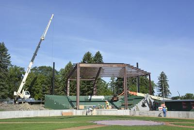 Construction continues at John Randall Field