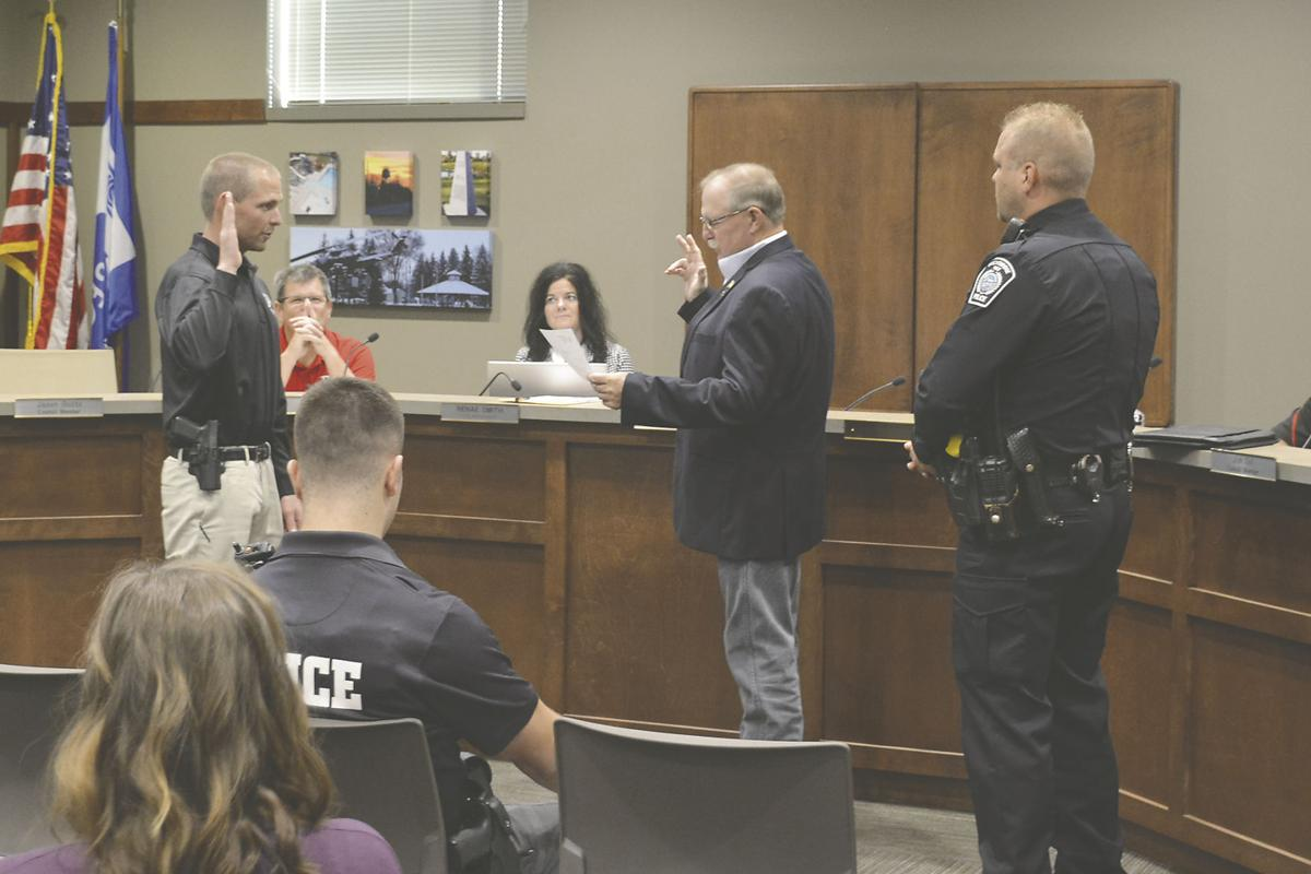 Breckenridge Police Department hires two new officers
