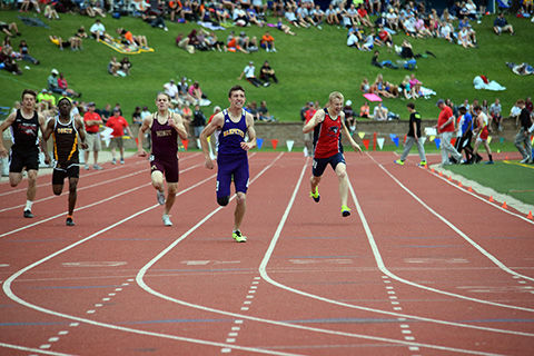 nd state track meet records