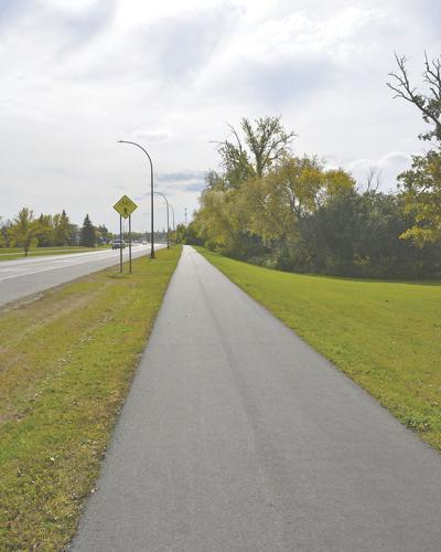 Banners under consideration for Breckenridge bike path
