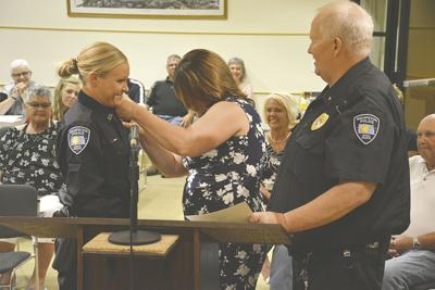 Wahpeton swears in new police officer