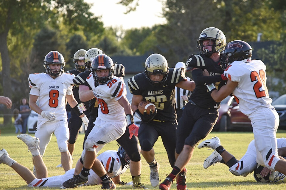 Warbirds fall to Tornadoes 38-30