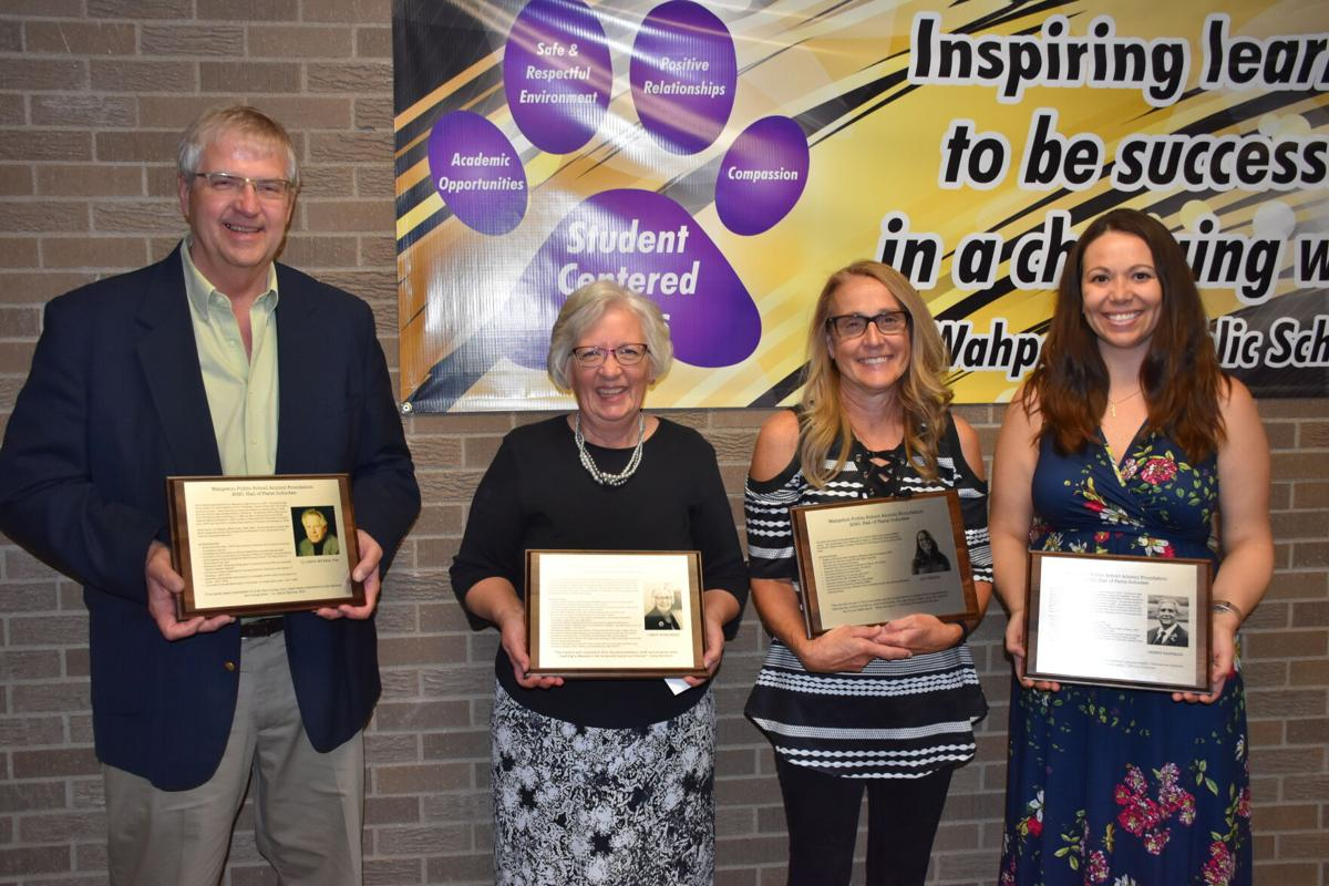 Family, community honor schools' newest hall of famers