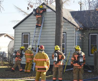 Sunday morning fire in Wahpeton